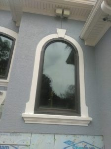 Bronze Specialty Shapes Window