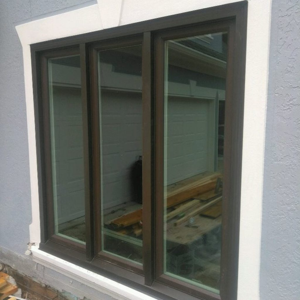 Bronze Casement Window