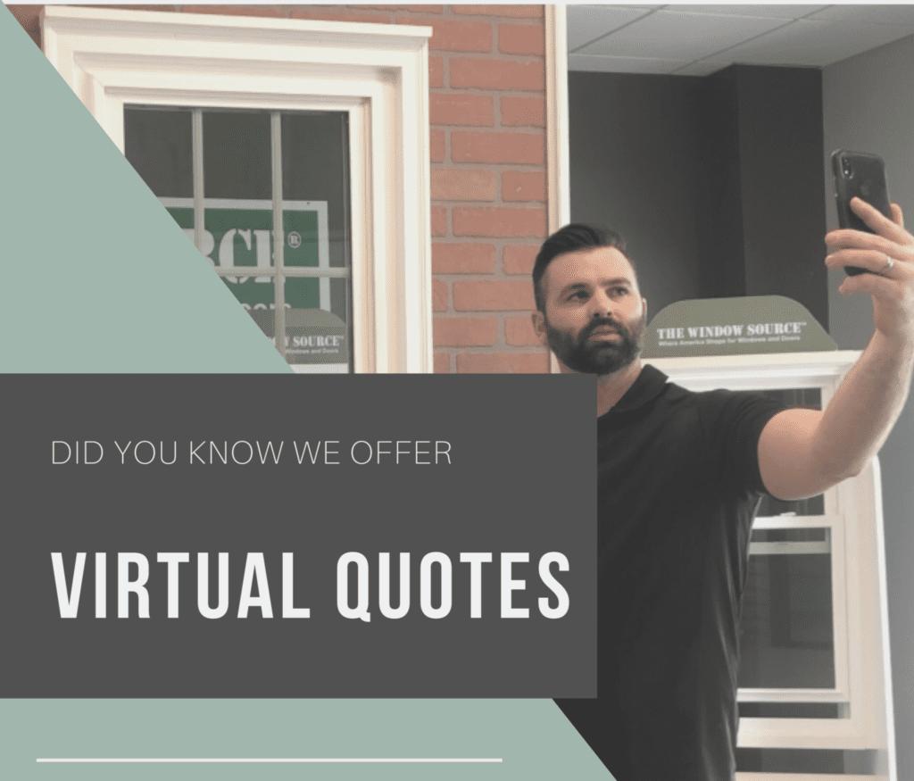 virtual window quotes