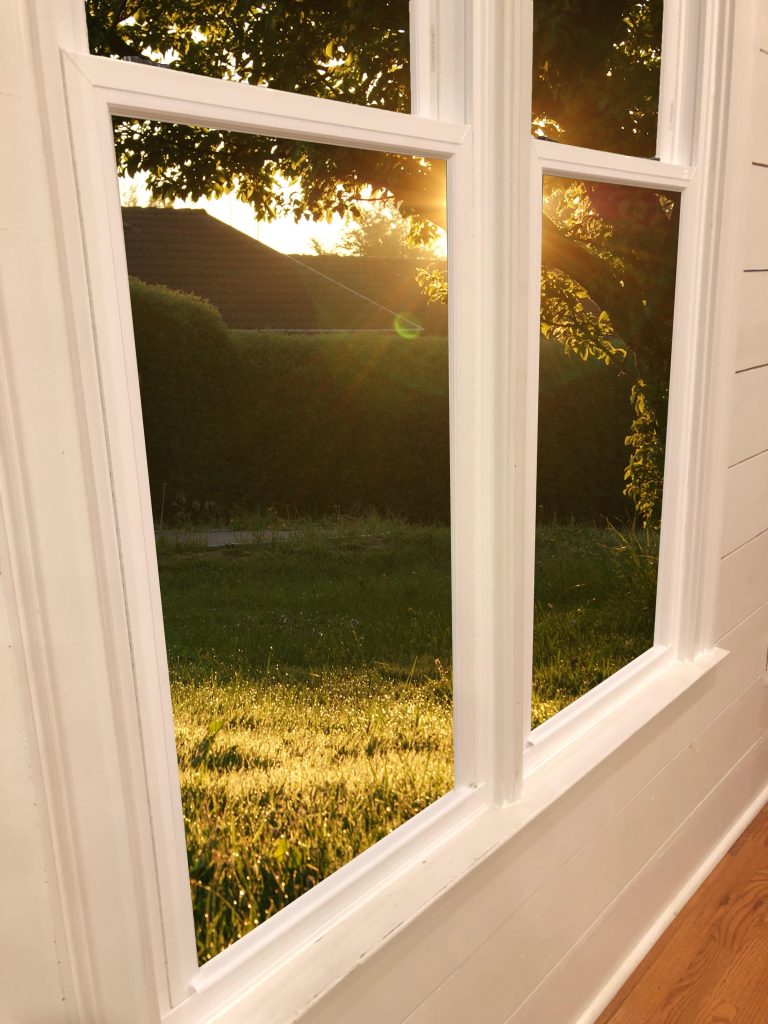 slim frame windows